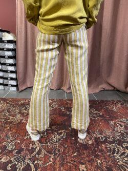Pantalon Angelica Curry Stripe
