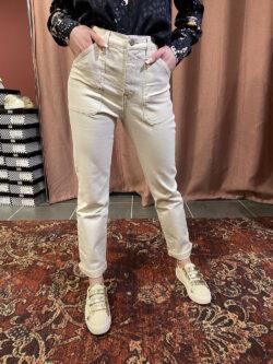 Pantalon Arizona Écru