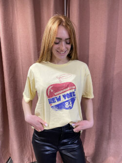 Tee-shirt Apple Yellow