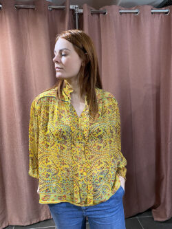 Blouse Cora Yellow