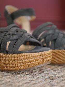 Sandales Compensées Luna Sunset Olive