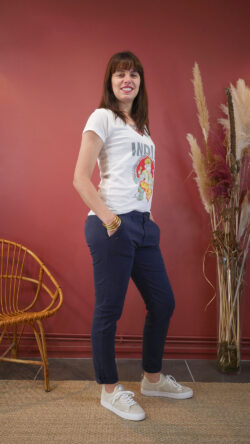 Pantalon Honoré Navy