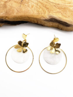Boucles Chance Blanche