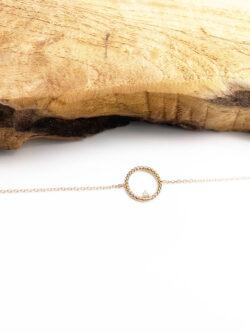 Bracelet Circle Diamond