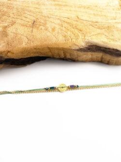 Bracelet Green Rosace