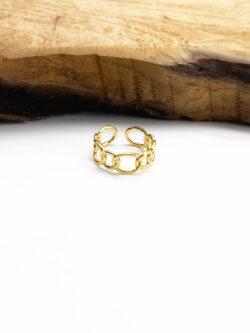 Bague Golden Chain