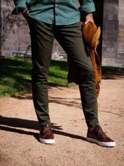 Pantalon Mott Vert Kaki