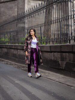 Pantalon Montréal Purple