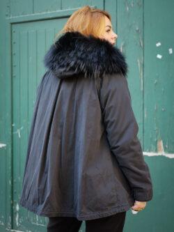 Manteau Rennes Noir